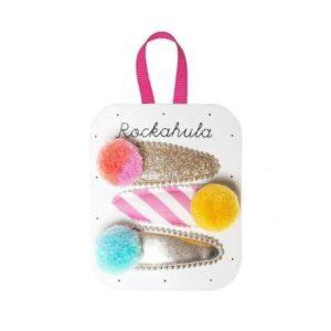 Barrettes Pompons Bonbons – Rockahula