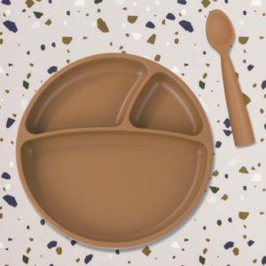 Cuillère silicone Caramel – Minikoioi